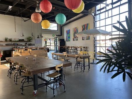 Unique Cuban Cafe, Colorful, Fun Vibe